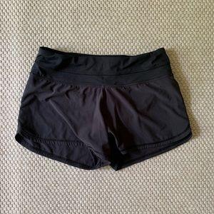 Lululemon Athletica black shorts.